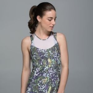 Lululemon Running in the City Tank Floral